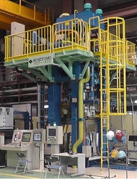 1500トン鍛造シミュレータ